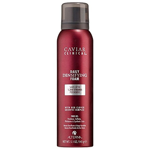 Alterna Caviar for Women Clinical Daily Densifying Foam, 5.1 Ounce (Alterna Mousse)