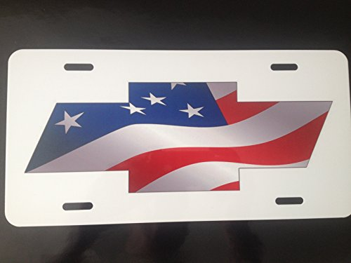chevy bow tie license plate - 6