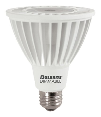 Bulbrite led14par30nf/L/30 K/D 14 Watt bombillas Led regulables Par30 lámpara, Base e instrucciones para hacer, blanco suave: Amazon.es: Iluminación