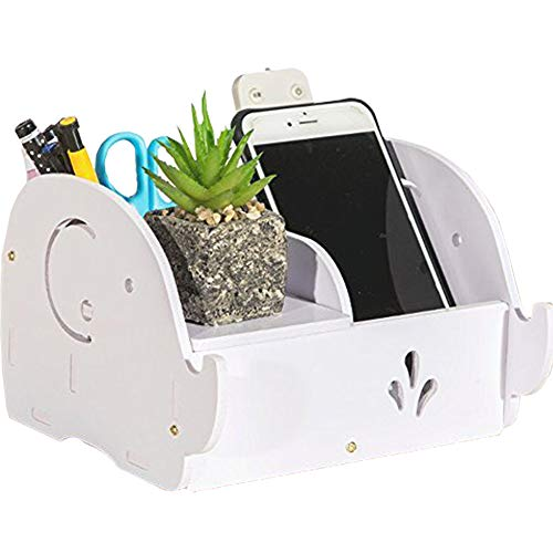 Cell Phone Stand, HomJoy Elephant Pencil Holder with Phone Holder Desk Organizer Desktop Pen Pencil Mobile Phone Bracket Stand Storage Pot Holder Container Stationery Box Organizer
