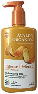 product image for Avalon Organics Intense Defense Cleansing Gel, 8.5 Fluid Ounce(pack of 5)