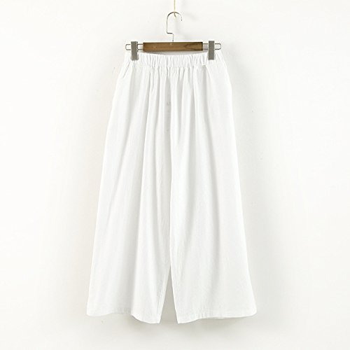Cystyle - Pantalón - para mujer Weiß