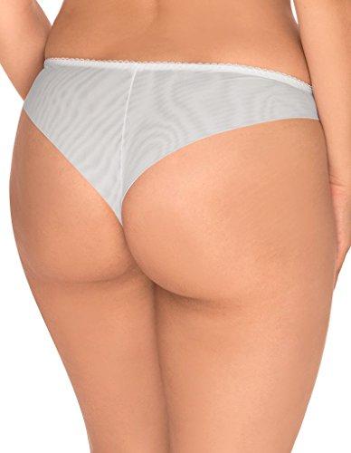Sans Complexe 319408 Women's Divine White Knicker Panty Tanga