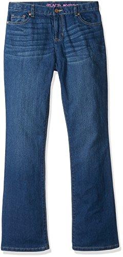 The Children's Place Girls' Basic Bootcut Jeans