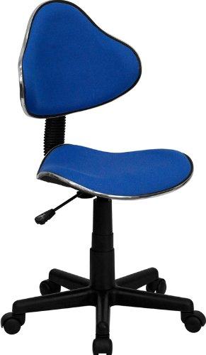 Flash Furniture Blue Fabric Ergonomic Swivel Task Chair Blue Fabric Ergonomic Task Chair