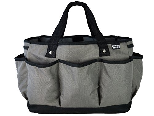 (Ensign Peak Deluxe Gardening and Tool Tote Bag (Gray))