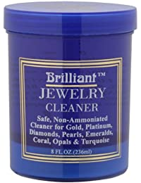 8 Oz Jewelry Cleaner with Cleaning Basket and Brush