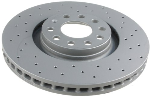 Zimmermann Brake Disc Coated & Cross Drilled