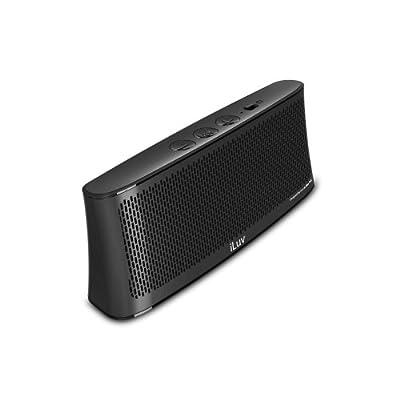 iLuv WAVECASTWH Wavecast Portable Stereo Bluetooth Speaker