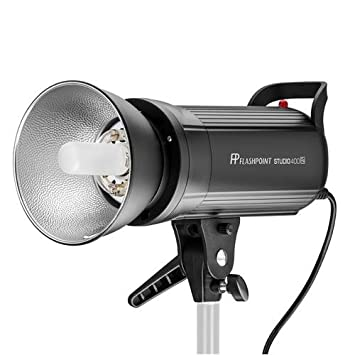 Flashpoint Studio 400 Monolight with Built-in R2 2 4GHz Radio Remote System  - Bowens Mount (SK400II)