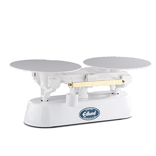 [Edlund BDS-16LS Baker's Dough Scale 16 lb x 1/4 oz Capacity without Scoop & Counterweight] (16 Lb Bakers Scale)