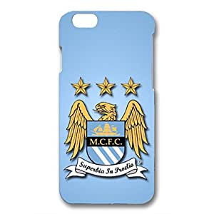 Personal Design FC Manchester City Phone Case Cover For Iphone 6/6S 3D Plastic Phone Case