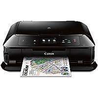 Canon 佳能MG7720无线一体多功能扫描仪和复印机 打印机 移动和平板印刷,与Airprint(TM)和谷歌云打印兼容,黑色