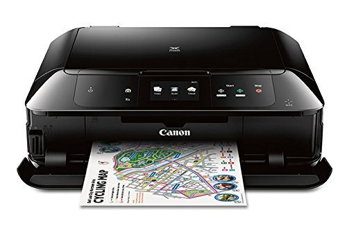 Canon MG7720 Wireless All-In-One Printer with Scanner and Copier: Mobile and Tablet Printing, with Airprint(TM) and Google Cloud Print compatible, Black by Canon