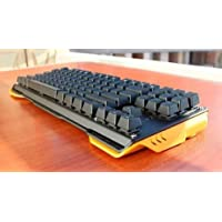 Teclado Mecânico James Donkey 619 104 Teclas Gamer Switch Gateron Preto