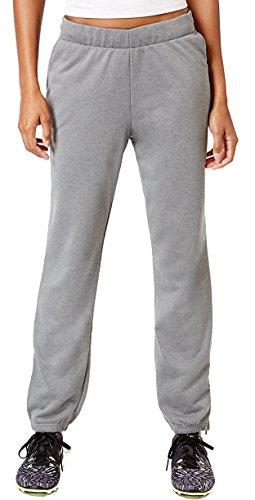 Nike Women's Dry Lightweight Fleece Training Pants (XL, Birch Heather/White)