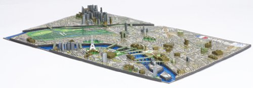 4D CITY SCAPE TIME PUZZLE Paris 77-055