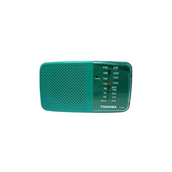 Toshiba AM/FM Radio TX-PR20 Green