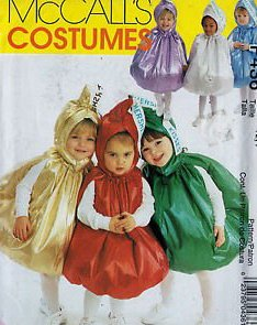 McCalls 9485 / 2342 / P436 Baby Infant Toddler Hershey Kiss Costume Sewing Pattern Size 1/2-1 ()