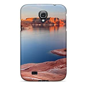 Excellent Galaxy S4 Case Tpu Cover Back Skin Protector Red Mountain by lolosakes