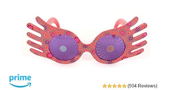 38480d4a9a Amazon.com  Harry Potter Luna Lovegood Spectrespecs Costume Glasses  Action  Figure Accessories  Clothing