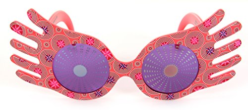 Pink Spiral Witch Hat - Harry Potter Luna Lovegood Spectrespecs Costume Glasses