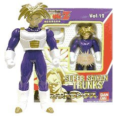 Super Battle Collection (Dragonball Z Bandai Japanese Super Battle Collection Action Figure Vol. 12 Super Saiyan Trunks)