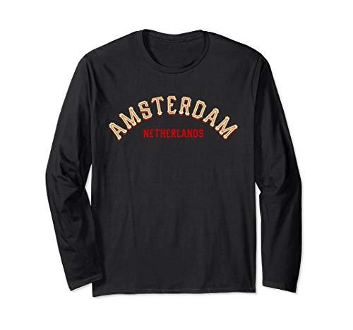 Dutch Long Sleeve - Amsterdam Holland Dutch Netherlands Long Sleeve t shirt