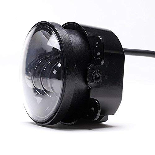 2Pcs 4Inch 30W LED Fog Lights Driving Headlight Passing Lamp for 2007-2016 Jeep Wrangler JK TJ CJ Chrysler 300 PT Cruiser