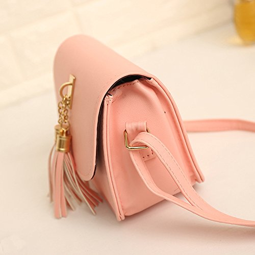 Color Beige Bag Female Messenger Women Handbag Small Minetom Bag Fashion Body Shoulder B Tassel Handbags Chains Women Candy Bag Bags Cross 8SUfq4w