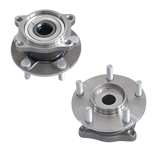 DRIVESTAR 512291-2P Pair 2 New Rear Left/Right Wheel Hub & Bearing for 04-11 Endeavor w/ABS 4WD