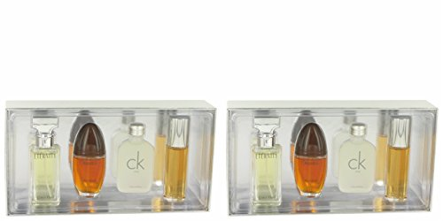 Calvìn Kleìn Gift Set - Mini Variety Gift Set Includes Eternity, Obsession C/k One, Escape, All 1/2 oz Sprays Except C/K One is a Splash (PACKAGE OF (Obsession Gift Set Spray)