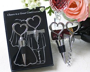 ''Cheers to a Great Combination'' Wine Set - Set of 50 by Kateaspen