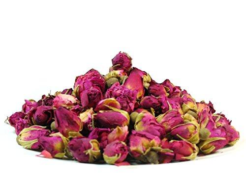 Premium Dried Rose Buds Rosebud Flower Herb Loose Leaf Tea Fragrant Natural Healthy Herbal Tea 3 (Rose Leaves)