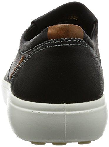 ECCO Soft 7 Men's, Zapatillas Altas para Hombre Negro (2001black)
