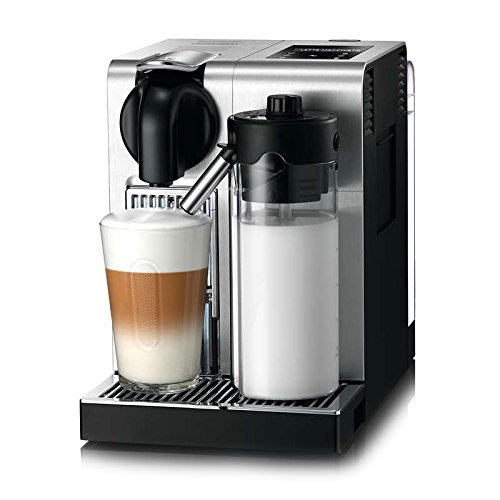 De'Longhi America, Inc. EN750MB Lattissima Pro Original Espresso Machine with Milk Frother by De'Longhi, 10.8' L x 7.6' W x 13' H, Brushed Aluminum