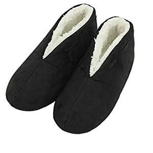 Forfoot Women's Slippers Winter Warm Plush Non Slip Slip on Indoor Boots House Shoes