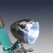 Retro Bike Headlight for Night Riding Vintage Bike Lights Front and Rear Lowrider Bicycle Parts Headlamp Flash