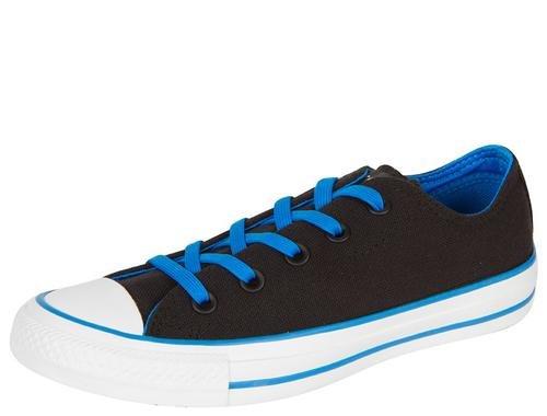 Converse Chuck Taylor Unisex Sneakers, Black Blue, 137854F (US Mens 6 D M/US Womens 8 B M) by Converse