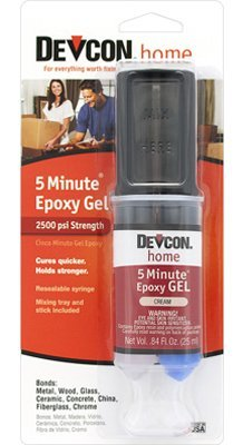 ITW Devcon S210 5-Minute Epoxy Glue Gel 1-Ounce Tube by ITW Devcon ()
