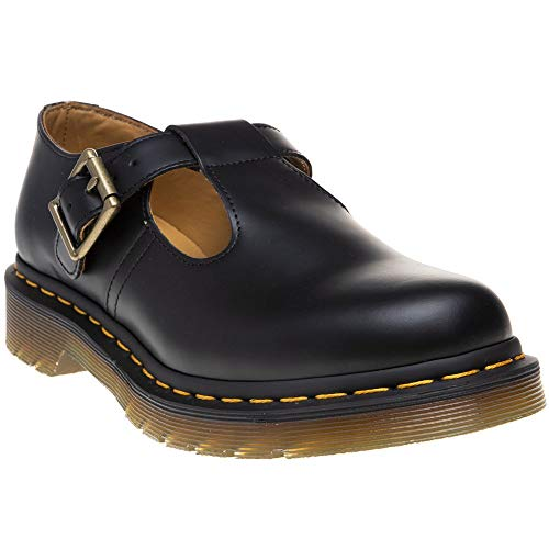 UK 8 Polley Dr Shoes Black Martens vqZWxwg
