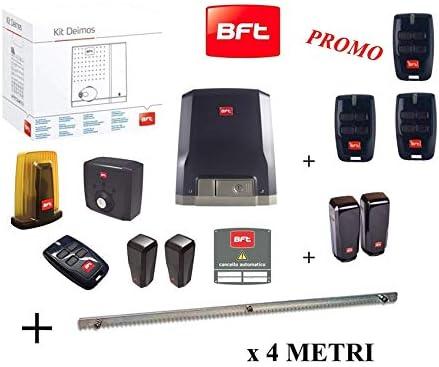 BFT Promo - Kit de puerta corredera automática Deimos Motor A600 ...