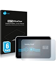 6X Savvies Ultra-Clear Screen Protector for Tandem Diabetes Care t:Slim X2 Insulin Pump, accurately Fitting - Simple Assembly - Residue-Free Removal