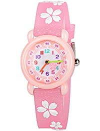 Kids Watches 3D Cute Cartoon Waterproof Silicone Children Toddler Wrist Watches Time Teacher Gift for Boys Girls Little Child