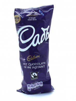 Cadbury Instant Hot Chocolate Drink 7 Cups 5 Packs