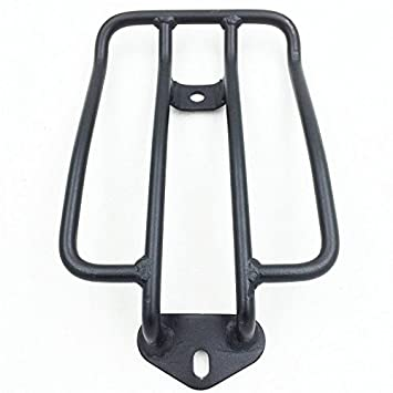 Black Solo Seat Luggage Rack For Harley Davidson Sportster XL883 1200 2004-2016