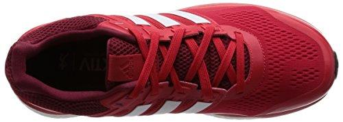 Adidas Mens Supernova Glide 8 Scarpe Da Corsa Rojo (rojray / Ftwbla / Buruni)