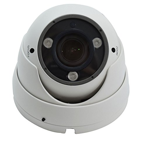 1080p Wide Angled 2MP Infrared Varifocal Dome Secu...