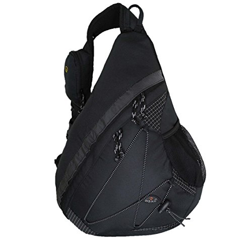 Strap Sling Bag Bottle Black Shoulder Audio Single 20�� amp; HBAG Pocket Backpack xgZ5qIq