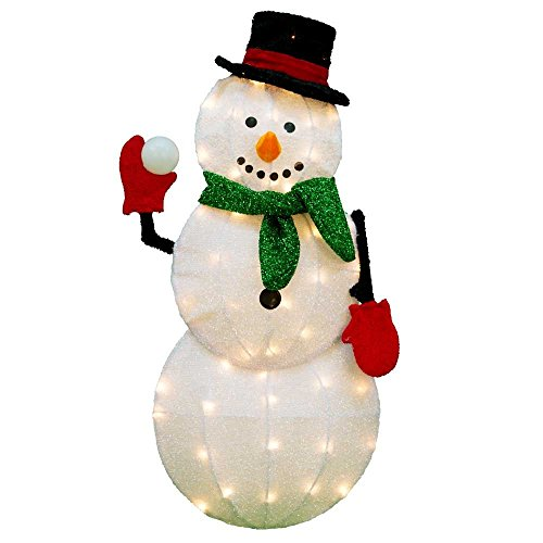 Lighted Outdoor Candy Cane Decorations